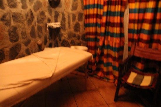 Kuriftu Resort and Spa Bahirdar: sala de masaje (en el hotel hay incluido un masaje gratuito por persona)