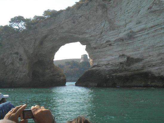 Village Baia Turchese: grotte di vieste
