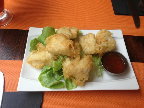 Bilgola Cafe : Blue shark nuggets