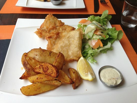 Bilgola Cafe : Fish and chips