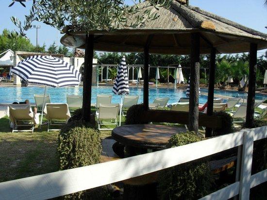 UNA Hotel Regina: veduta piscina