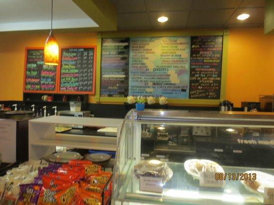 Sweet Harmony Cafe & Bakery: counter