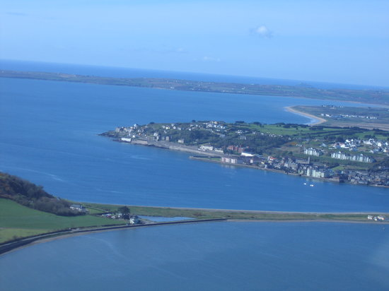 Quality Hotel & Leisure Center Youghal: Ariel View Of Youghal