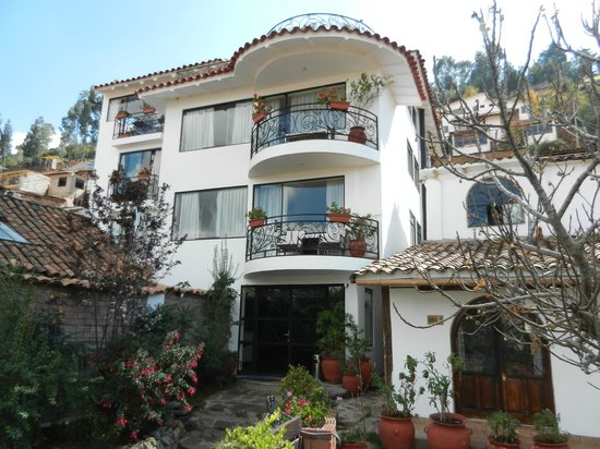 Encantada Casa Boutique Spa: Hotel front