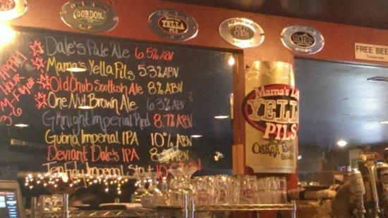 Oskar Blues Grill & Brew: Everything but the seasonals