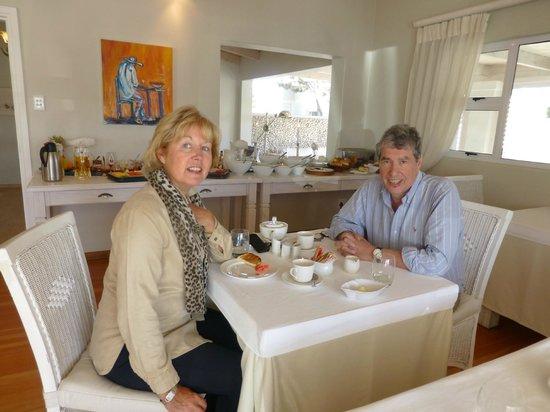 Swakopmund Guesthouse: an excellent breakfast in Swakop Guesthouse