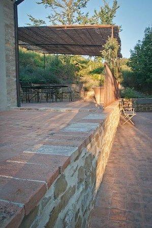 La Tavola dei Cavalieri: il terrazzino