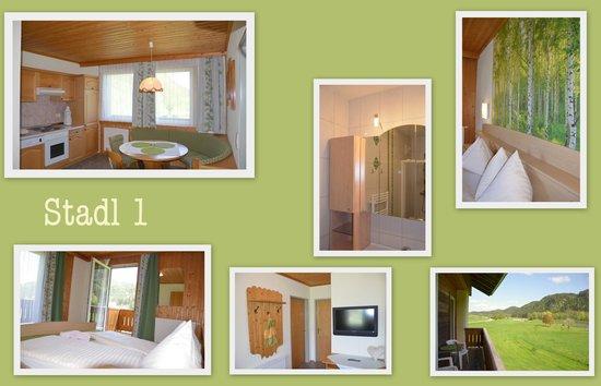 Ferien am Talhof: Beispielfoto für eine Ferienwohnung mit 2 Schlafzimmern 3-5 P