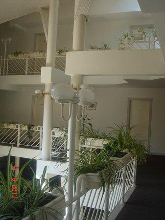 Adler Hotel: the hall