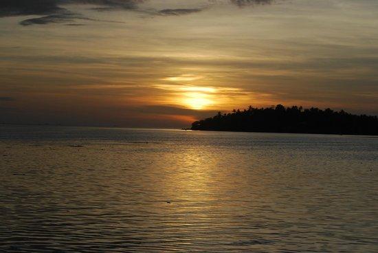 The Smile Hinkong Resort: sunset