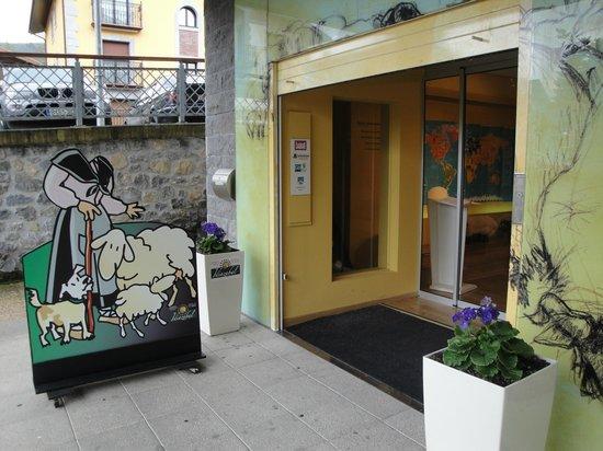 Centro de Interpretacion y Degustacion del Queso Idiazabal: Entrada
