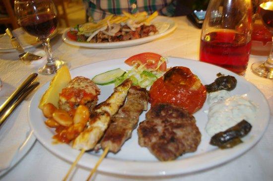 Zorbas: одно из наших блюд