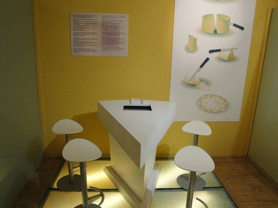 Centro de Interpretacion y Degustacion del Queso Idiazabal: zona de cata
