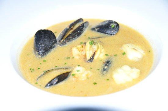 Restaurante Galena Mas Comangau: Soupe de Poisson