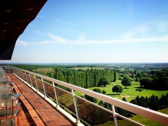 Hotel Les Dryades Golf & Spa : vue du 6e étage
