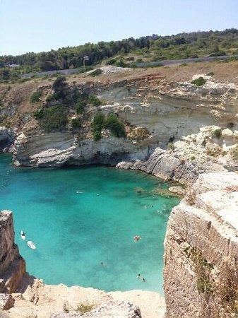 Santa Cesarea Terme, Italia: porto miggiano 2013