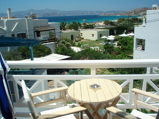 Naxos Island Hotel: View from suite