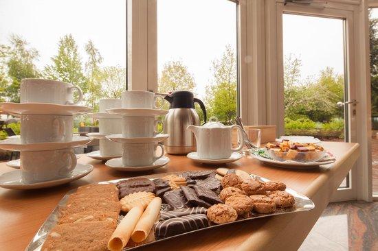 Hotel Heidehof: Kaffeepause