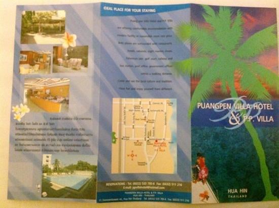Puangpen Villa Hotel : Puang Pen Villa Hotel details