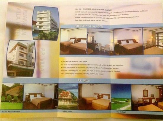 Puangpen Villa Hotel : Details of facilities