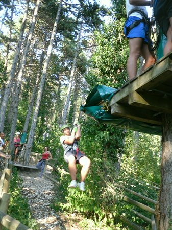 San Zeno di Montagna, Italy: Jungle adventure