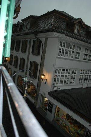 Schwert Thun: view from room window