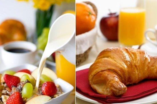 Hostellerie du Chambellan : Breakfast at Le Chambellan