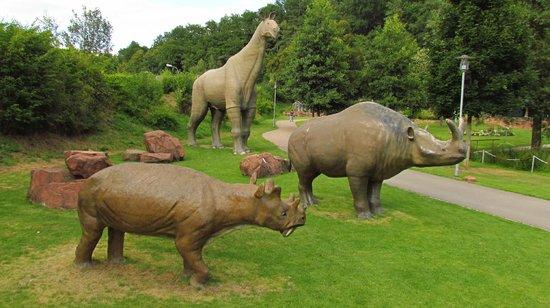 Gartenschau Kaiserslautern: Dinosaurs, mastadons and giant sloths....oh my