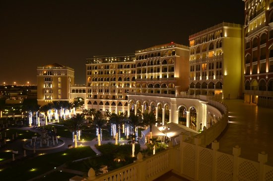 The Ritz-Carlton Abu Dhabi, Grand Canal: view from the room