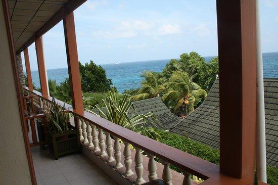 Hotel L'Ocean: Blick von der Balkonterrasse