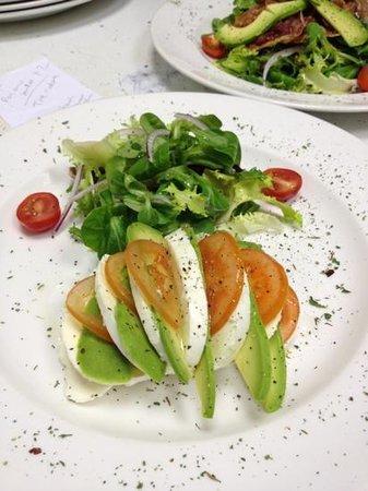 Nonna Cappuccini's: Tre Colore Salad and Nonna's