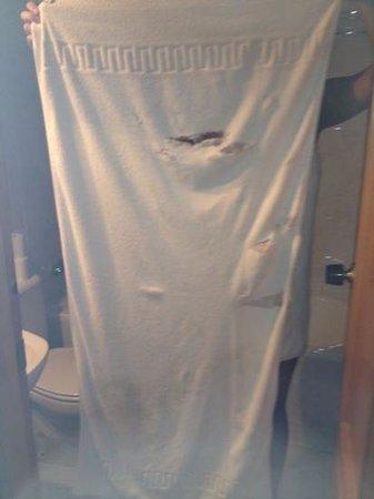 Hotel Simon: toalla