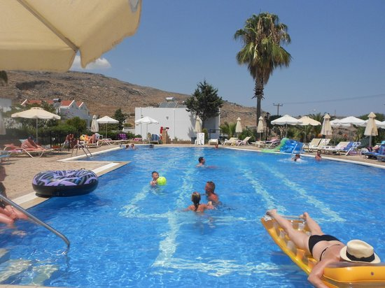Hotel Lindos View: 2nd pool