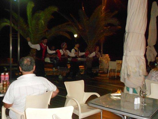 Hotel Lindos View: Greek Night