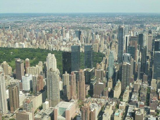 Manhattan Helicopters : manhattan vue d'en haut