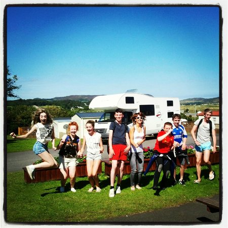 Knockalla Caravan and Camping Park: Group fun