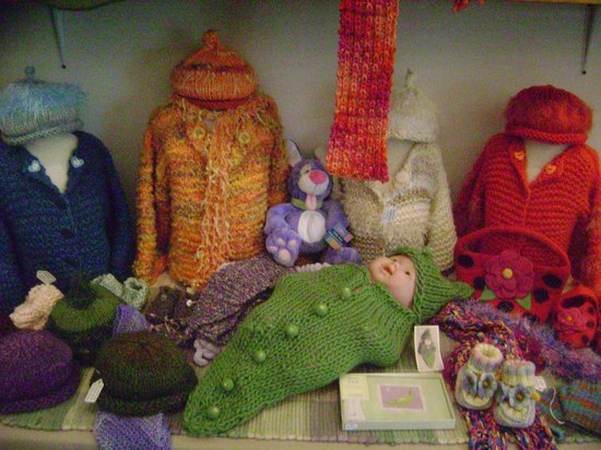 Silva Gallery: Handknit sweaters, hats, scarves and socks