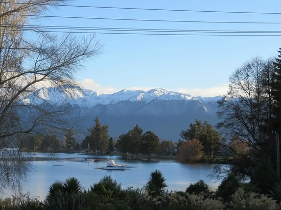 Te Anau Lakeview Holiday Park : This was the view from our window