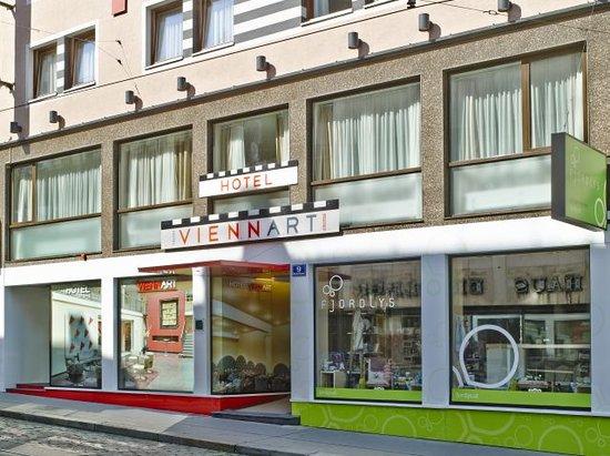 Hotel Viennart am Museumsquartier: Hotel Fassade