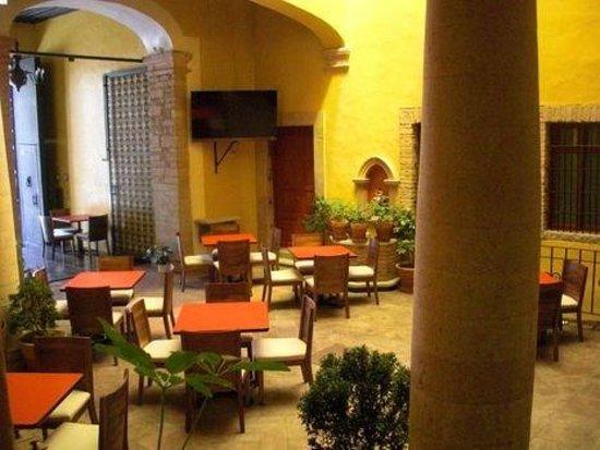 Hotel La Casona de Don Lucas: Restaurant