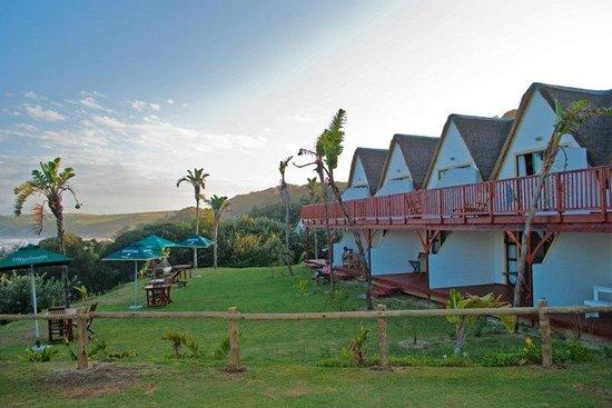 Crawford's Beach Lodge: Garden