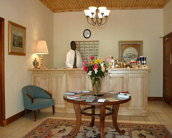 Magoebaskloof Hotel: Reception