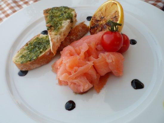 Restaurant Bellavista : cibo