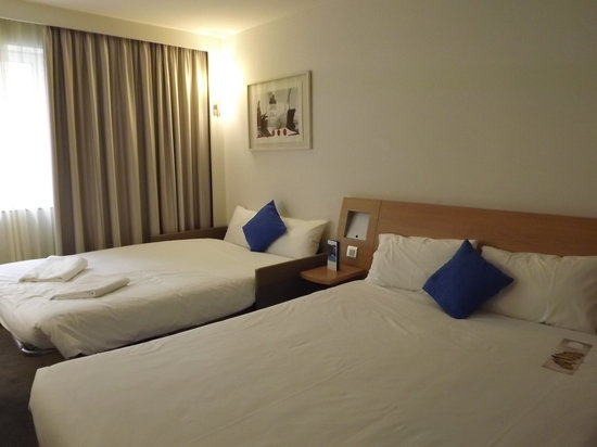 Novotel London City South : Chambre pour 4