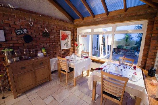 Culmore Cottage : Pour Prendre le Petit Déjeuner