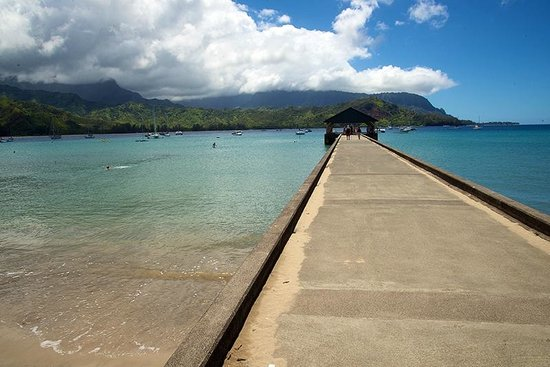 Hanalei Pier: A View From Above...