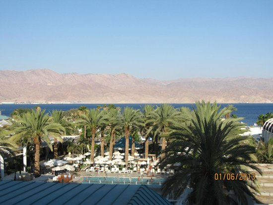 Isrotel Yam Suf Hotel: View to Red Sea from the Room