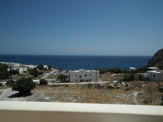 Epavlis Hotel : vista dall'albergo