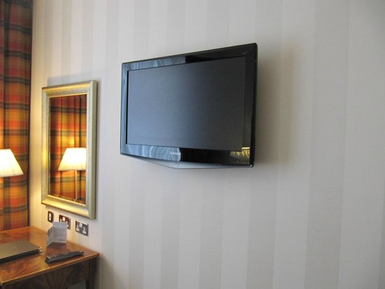 Europa Hotel - Belfast: Large LCD Television