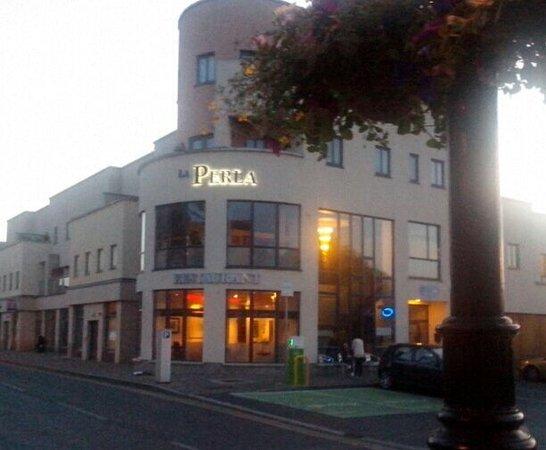La Perla Restaurant: la PERLA italian restaurant  emmet house  finnegan's way co. meath  RESERVATION    TEL 046948313